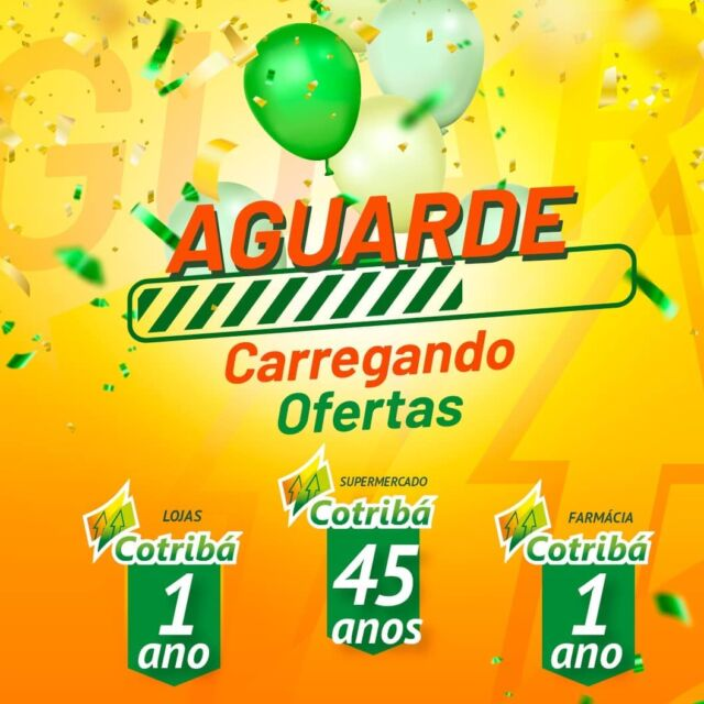 3 aniversários no Centro Comercial Cotribá, em Ibirubá 👏🏻🥳🎂🎉🎁🎈